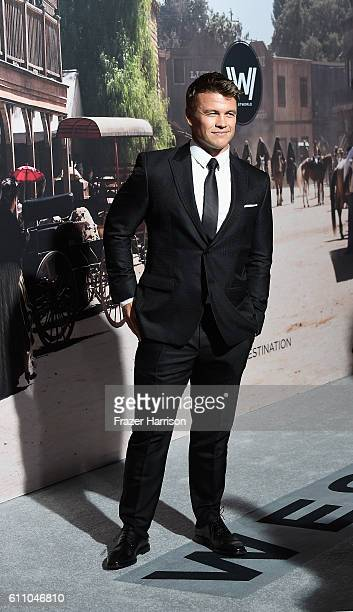 Actor Luke Hemsworth arrives at the Premiere of HBO's Westworld Arrivals at TCL Chinese Theatre on September 28 2016 in Hollywood California