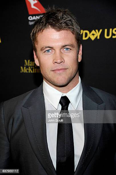 Actor Luke Hemsworth attends the 2017 G'Day Black Tie Gala at Governors Ballroom At Hollywood And Highland on January 28 2017 in Hollywood California