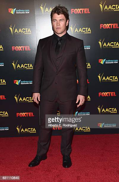 Actor Luke Hemsworth attends the 6th AACTA International Awards at Avalon Hollywood on January 6 2017 in Los Angeles California