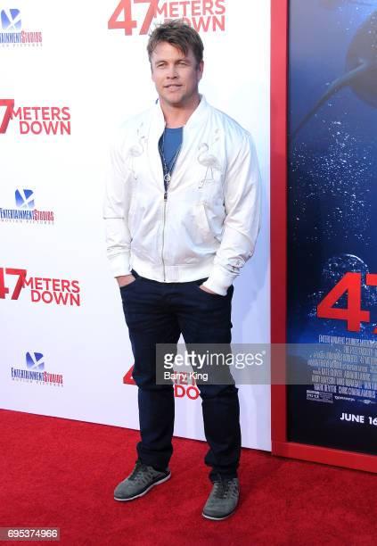 Actor Luke Hemsworth attends the Premiere of Dinemsion Films' '47 Meters Down' at Regency Village Theatre on June 12 2017 in Westwood California