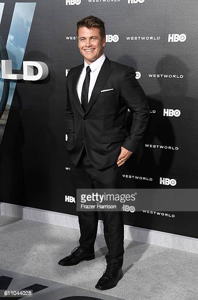 Actor Luke Hemsworth attends the premiere of HBO's Westworld at TCL Chinese Theatre on September 28 2016 in Hollywood California