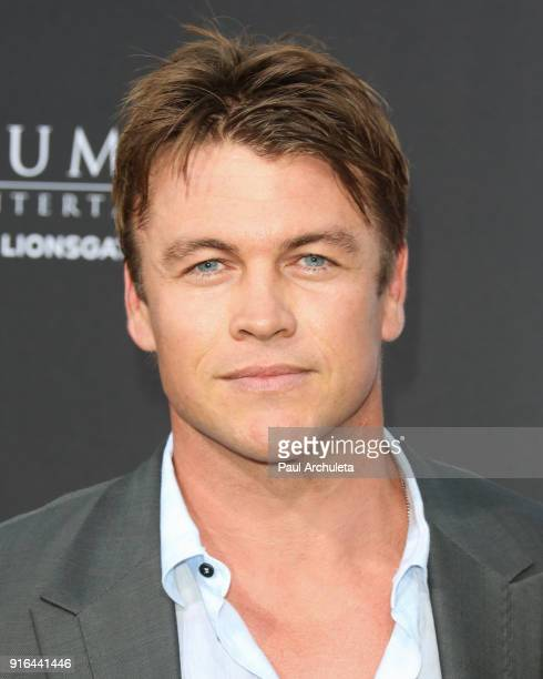 Actor Luke Hemsworth attends the premiere of Lionsgate's 'All Eyez On Me' on June 14 2017 in Los Angeles California