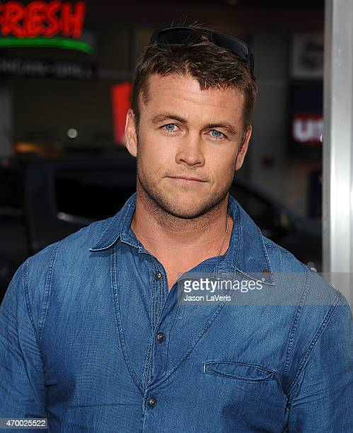 Actor Luke Hemsworth attends the premiere of The Water Diviner at TCL Chinese Theatre IMAX on April 16 2015 in Hollywood California