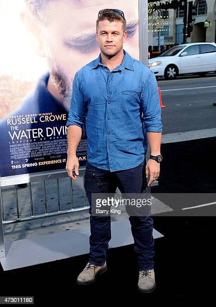 Actor Luke Hemsworth attends the premiere of 'The Water Diviner' at TCL Chinese Theatre IMAX on April 16 2015 in Hollywood California