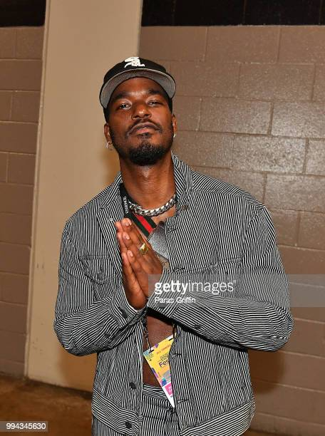 Actor Luke James attends the 2018 Essence Festival Day 3 at Louisiana Superdome on July 7 2018 in New Orleans Louisiana