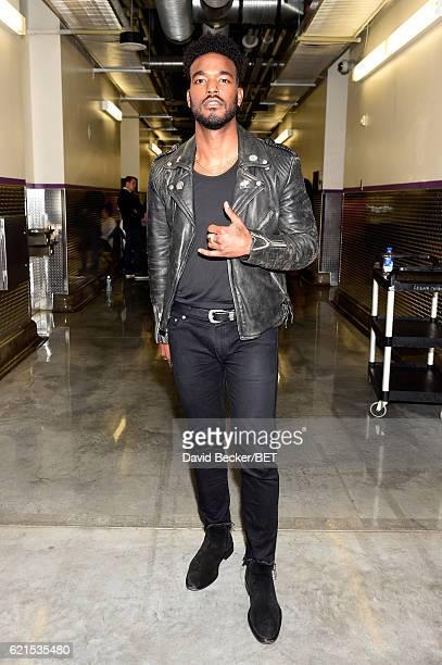 Actor Luke James seen backstage during the 2016 Soul Train Music Awards on November 6 2016 in Las Vegas Nevada