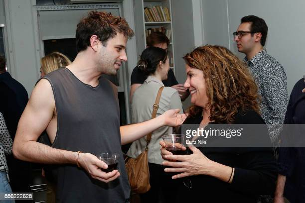 Actor Luke Kirby attends The Hamptons International Film Festival's Screenplay Reading of Mickey and the Bear at The Actors Company Theater on...