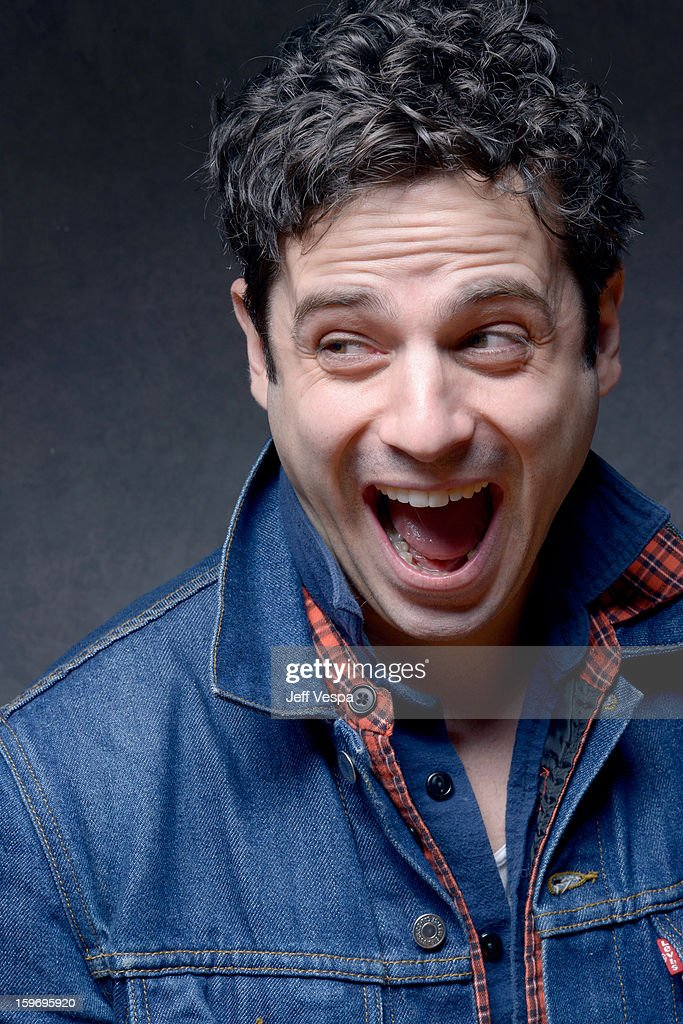 Actor Luke Kirby poses for a portrait during the 2013 Sundance Film Festival at the WireImage Portrait Studio at Village At The Lift on January 18, 2013 in Park City, Utah.