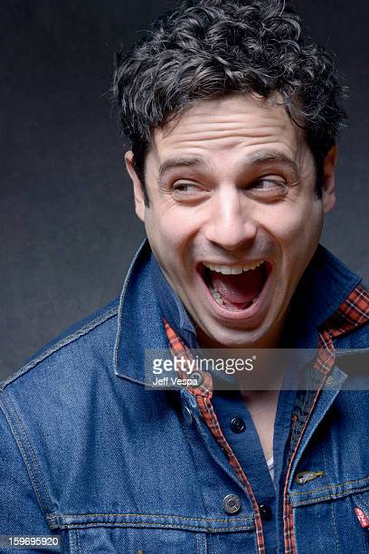 Actor Luke Kirby poses for a portrait during the 2013 Sundance Film Festival at the WireImage Portrait Studio at Village At The Lift on January 18...