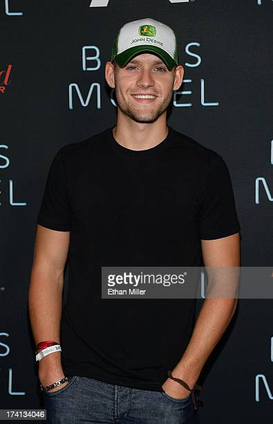Actor Luke Kleintank attends AE's Bates Motel party during ComicCon International 2013 at Gang Kitchen on July 20 2013 in San Diego California