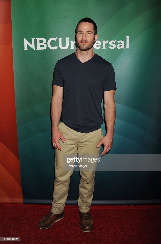 Actor Luke Macfarlane attends the 2015 NBCUniversal Summer Press Day held at the The Langham Huntington Hotel and Spa on April 02, 2015 in Pasadena, California.