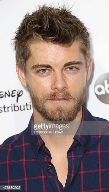 Actor Luke Mitchell attends Disney Media Disribution International Upfronts at Walt Disney Studios on May 17 2015 in Burbank California