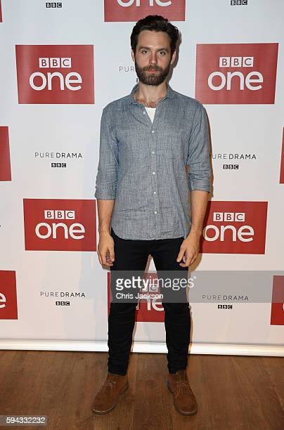Actor Luke Norries poses for a portrait at the Poldark Series 2 Preview Screening at the BFI on August 22 2016 in London England