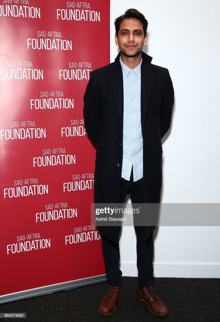 Actor Luke Pasqualino attends the SAG-AFTRA foundation conversation for 'Snatch' at the Robin Williams Center on March 16, 2017 in New York City.