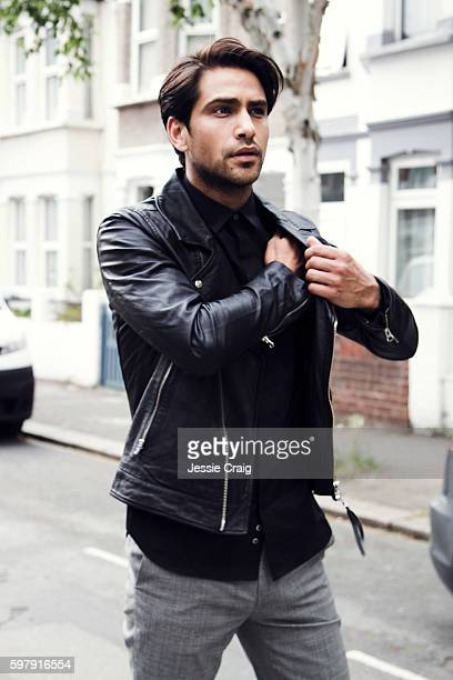 Actor Luke Pasqualino is photographed for The Picture Journal on May 27 2016 in London England