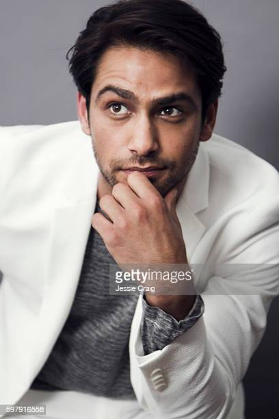 Actor Luke Pasqualino is photographed for The Picture Journal on May 27, 2016 in London, England.