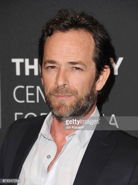 Actor Luke Perry arrives at the 2017 PaleyLive LA Spring Season Riverdale Screening And Conversation at The Paley Center for Media on April 27 2017...