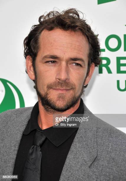 Actor Luke Perry attends Global Green USA's 13th Annual Millennium Awards at the Fairmont Miramar Hotel on May 30 2009 in Santa Monica California
