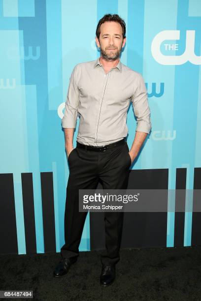 Actor Luke Perry attends the 2017 CW Upfront on May 18 2017 in New York City