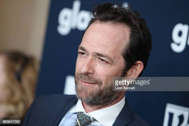 Actor Luke Perry attends the 28th Annual GLAAD Media Awards at The Beverly Hilton Hotel on April 1 2017 in Beverly Hills California