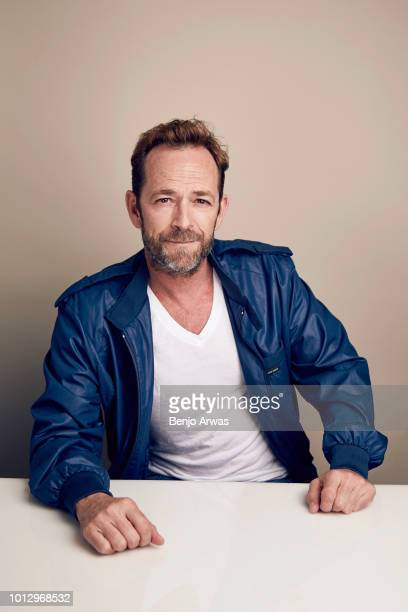 Actor Luke Perry of CW's 'Riverdale' poses for a portrait during the 2018 Summer Television Critics Association Press Tour at The Beverly Hilton...
