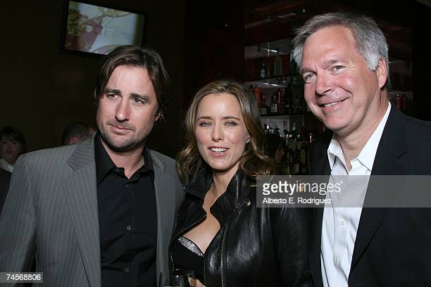 Actor Luke Wilson actress Tea Leoni and IFC President of Entertainment Jonathan Sehring attend the after party for the IFC premiere of You Kill Me...