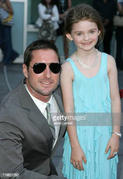 Actor Luke Wilson and actress Morgan Lily attend Overture Films' Premiere of Henry Poole is Here at Arclight Cinemas on August 7 2008 in Los Angeles...
