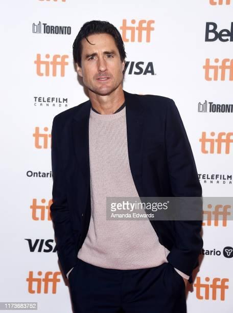 "Actor Luke Wilson arrives at the 2019 Toronto International Film Festival - ""Guest Of Honour"" Premiere at The Elgin on September 10, 2019 in Toronto,..."