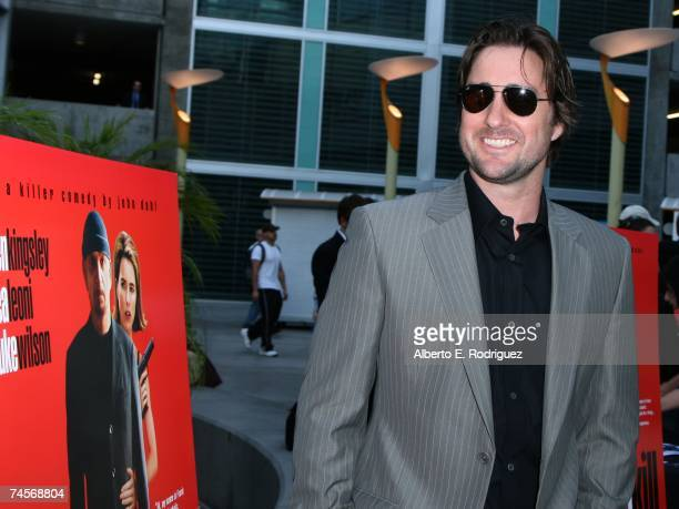 Actor Luke Wilson arrives at the IFC premiere of You Kill Me June 11 2007 in Los Angeles California