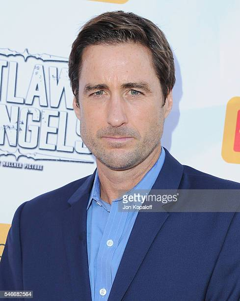 Actor Luke Wilson arrives at the Los Angeles Premiere 'Outlaws And Angels' at Ahrya Fine Arts Movie Theater on July 12 2016 in Beverly Hills...
