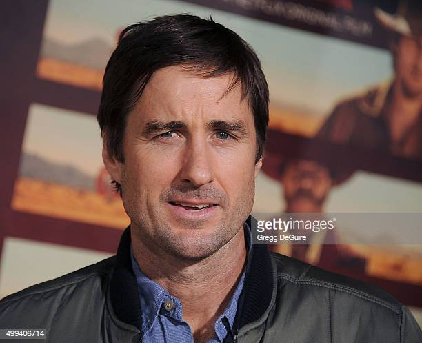 Actor Luke Wilson arrives at the premiere of Netflix's 'The Ridiculous 6' at AMC Universal City Walk on November 30 2015 in Universal City California