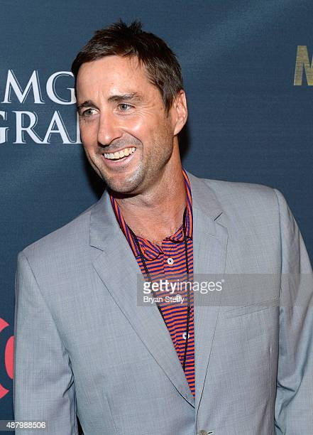 Actor Luke Wilson arrives at the VIP PreFight Party for 'High Stakes Mayweather v Berto' presented by Showtime at MGM Grand Garden Arena on September...