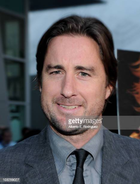 Actor Luke Wilson arrives to the premiere of Paramount Pictures' Middle Men at the ArcLight Theaters on August 5 2010 in Los Angeles California