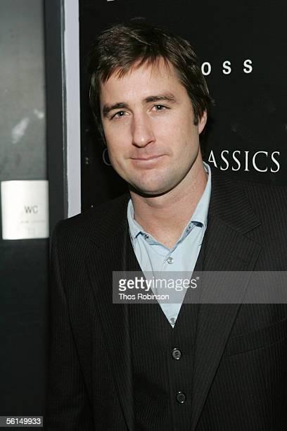 Actor Luke Wilson attends the Grand Classics Screening of Pat Garrett Billy The Kid at Soho House on November 12 2005 in New York City