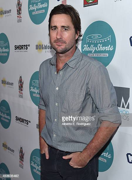 Actor Luke Wilson attends the Hollyshorts 10th Anniversary Opening Night at The TCL Chinese Theatres on August 14 2014 in Hollywood California