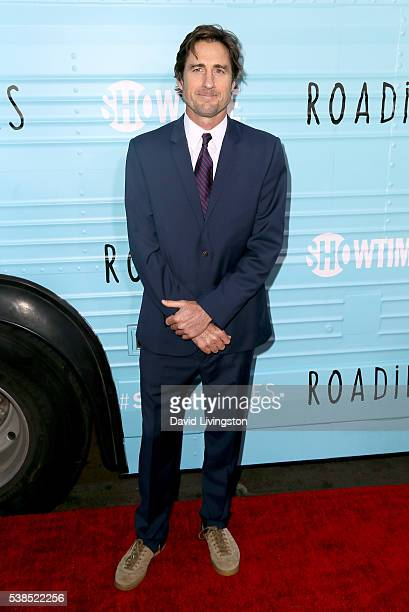 Actor Luke Wilson attends the premiere for Showtime's Roadies at The Theatre at Ace Hotel on June 6 2016 in Los Angeles California