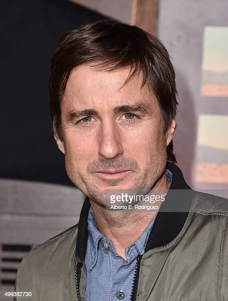 Actor Luke Wilson attends the premiere of Netflix's 'The Ridiculous 6' at AMC Universal City Walk on November 30 2015 in Universal City California