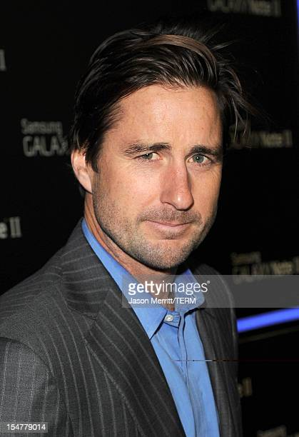 Actor Luke Wilson attends the Samsung Galaxy Note II Beverly Hills Launch Party on October 25 2012 in Los Angeles California