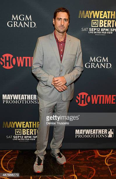 Actor Luke Wilson attends the VIP PreFight Party for 'High Stakes Mayweather v Berto' presented by Showtime at MGM Grand Garden Arena on September 12...