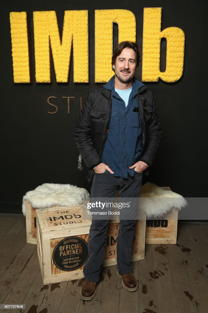 Actor Luke Wilson from 'Arizona' attends The IMDb Studio and The IMDb Show on Location at The Sundance Film Festival on January 20, 2018 in Park City, Utah.