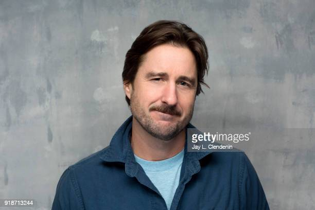Actor Luke Wilson from the film 'Arizona' is photographed for Los Angeles Times on January 20 2018 in the LA Times Studio at Chase Sapphire on Main...