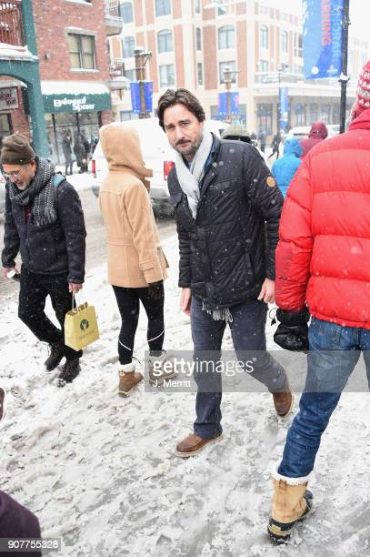 Actor Luke Wilson is seen at the 2018 Sundance Film Festival wearing SOREL on January 20 2018 in Park City Utah