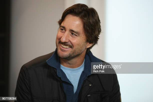 Actor Luke Wilson of 'Arizona' attends The IMDb Studio and The IMDb Show on Location at The Sundance Film Festival on January 20 2018 in Park City...