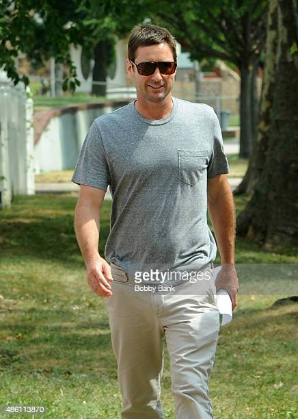 Actor Luke Wilson on the set of 'All We Had' on August 31 2015 in New York City