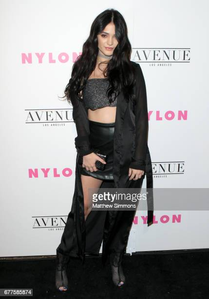 Actor Luna Blaise attends NYLON's Annual Young Hollywood May Issue Event at Avenue on May 2 2017 in Los Angeles California