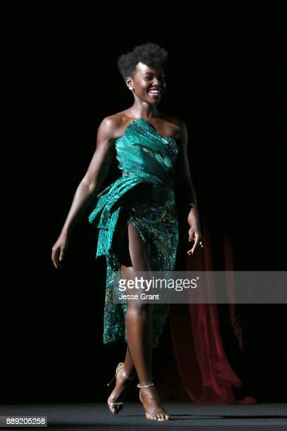 Actor Lupita Nyong'o at Star Wars The Last Jedi Premiere at The Shrine Auditorium on December 9 2017 in Los Angeles California
