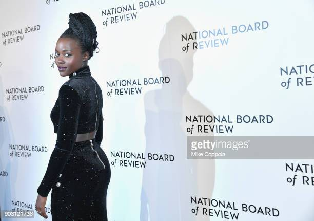 Actor Lupita Nyong'o attends the 2018 The National Board Of Review Annual Awards Gala at Cipriani 42nd Street on January 9 2018 in New York City