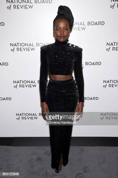 Actor Lupita Nyong'o attends The National Board Of Review Annual Awards Gala at Cipriani 42nd Street on January 9 2018 in New York City