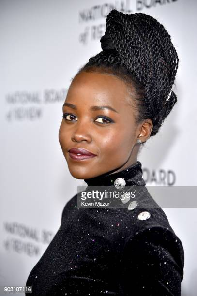 Actor Lupita Nyong'o attends the The National Board Of Review Annual Awards Gala at Cipriani 42nd Street on January 9 2018 in New York City