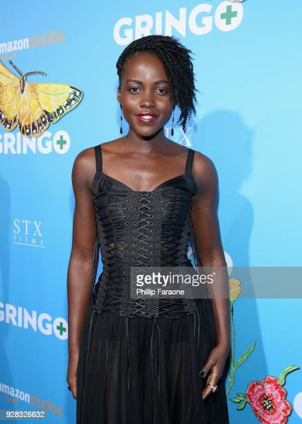 Actor Lupita Nyong'o attends the world premiere of 'Gringo' from Amazon Studios and STX Films at Regal LA Live Stadium 14 on March 6 2018 in Los...